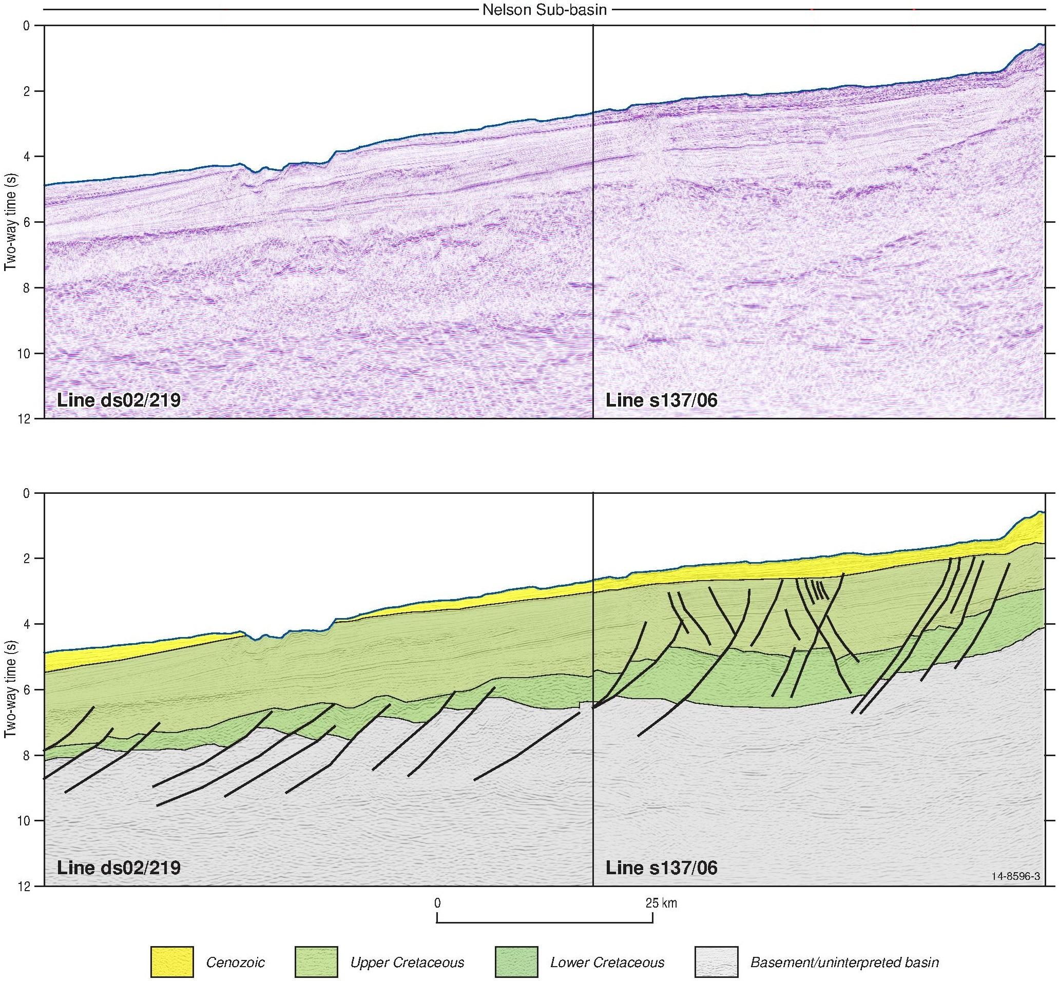 Otway Basin-Nelson Sub-basin-cropped